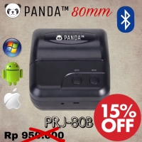 PANDA MOBILE MINI PRINTER KASIR-PPOB BLUETOOTH+USB 80MM KERTAS THERMAL