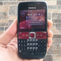 Nokia E63 Black Normal Hp Jadul Klasik Qwerty Handphone Nostalgia