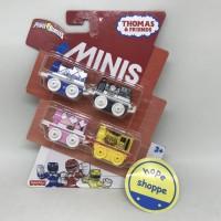 Thomas and Friends Minis - Power Rangers Full Set 4 pcs Diecast Train