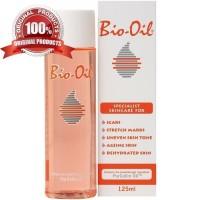 BIO OIL 125ml Anti Stretch Mark dan Selulit ORI