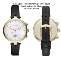Jam Kate Spade Hybrid Smartwatch KST23204 black leather al