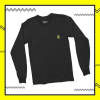 Youpong Black Long-Sleeves - UNISEX