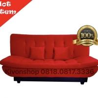 Harga promo free ongkir sofa bed reclyning pillow top super big sale   Hargalu.com