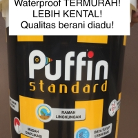 Cat pelapis anti air / waterproof Puffin Standard 4kg setara aquaproof