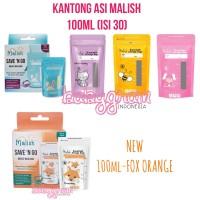 Malish Kantong ASI 100ml Breastmilk Storage Malish Seperti Gabag Natur