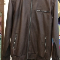 Bianca Leather Jacket Brown