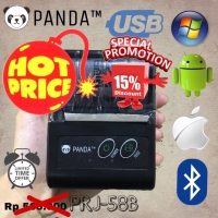 MINI PORTABLE PRINTER PPOB/KASIR 58MM THERMAL PANDA-58B(USB+BLUETOOTH)