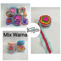 Kertas Krep Gulung Mix Warna