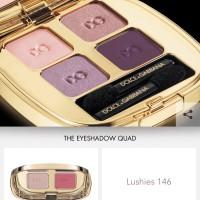 The Eyeshadow Smooth Eye Colour Quad Lushies 146 Dolce & Gabbana New