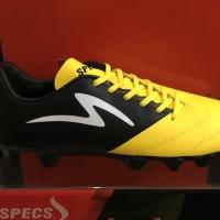 promo sepatu bola specs storm19 warna kuning hitam