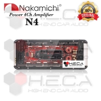 Power Amplifier 4 Channel NAKAMICHI N4 4Ch Audio Mobil N-4 Ampli