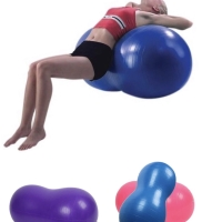 PANACHE Anti Burst Peanut Yoga Gym Pilate Sport Ball, Bola Kesehatan