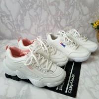 Sneakers Summer Fila FINE Fashion Import Sepatu Sporty casual Wanita