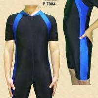 Baju renang diving dewasa pria wanita unisex terusan jumbo
