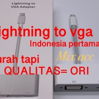 Lightning To VGA Adapter / apple lightning to vga adapter