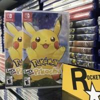Nintendo Switch Pokemon Let's Go : Pikachu