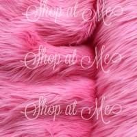 Russian Fur Pink Strawberry 200x150 Antislip/ KARPET