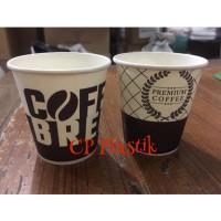 Paper Cup | Gelas Kertas Motif Uk. 6,5 oz (isi 50 pcs)