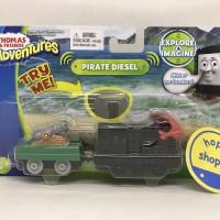 Thomas and Friends Adventures - Pirate Diesel Talking Train Diecast