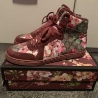 Pre Order Sepatu Sneakers GUCCI Hightop Sneaker Dry Rose Size 42