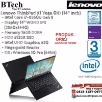 LENOVO ThinkPad X1 Yoga 0ID Carbon Core i7-8550U/16GB/512GB/Win10Pro