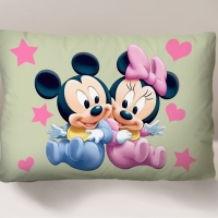Bantal Mickey & Mini Mouse (Size 66 x 45)
