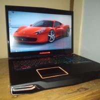 Laptop Gaming Dell Alienware M17X Second Berkualitas