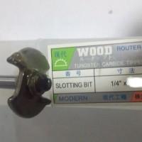 Harga mata profil kayu slotting bit router 1 4 x 5 32 inch 4 mili |