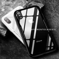 CAFELE Tempered Glass Case iPhone XSMAX XR XS X MAX 10 Casing Acrylic