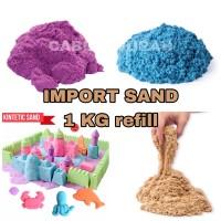 Refill Pasir kinetik mainan pasir castle refill 1 KG kinetic sand