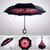 payung terbalik gagang C reverse umbrella