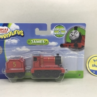 Thomas and Friends Adventures - James Metal Engine Long Train Diecast