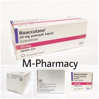 [BOX] Obat jerawat Roaaccutane 20mg by Roche / Jamin Ori 100%