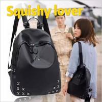 Harga tas ransel wanita tas backpack import korea tas punggung hitem | antitipu.com