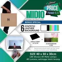 Mini Studio Photo KHUSUS UMKM [MIDIO S.V3] Byk Bonus - Hasil Foto PRO