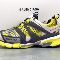 BALENCIAGA TRACK TRAINER YELLOW UNAUTHORIZED AUTHENTIC