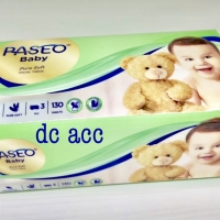 paseo tissue baby 130 sheet 3 ply