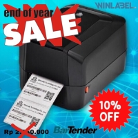 BARCODE LABEL PRINTER WINCODE C342C SEKELAS ZEBRA 820-HONEYWELL PC42T