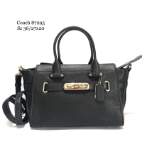 cbbd72b714d Coach swagger 27 black ghw authentic bag tas ori original