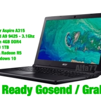 LAPTOP GAMING ACER ASPIRE 3 A315 | AMD A9 9425 | 4GB | 1TB BONUS GAME