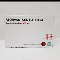 Atorvastatin calcium 20mg dexa