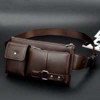Tas Selempang | Slempang Kulit Pria Sling Bag Waistbag import 682