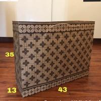Paperbag XXL Motif 43x13x35 Tas Belanja Tas Shopping Tas Kertas Goodie