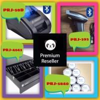 PAKET 2D BLUETOOTH SCANNER+BLUETOOTH PRINTER THERMAL+LACI KASIR+STRUK