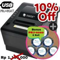 POS MINI PRINTER KASIR 80 MM THERMAL PANDA PRJ-80AT USB (Auto Cutter)