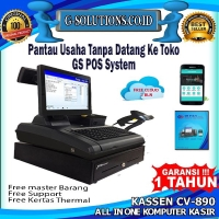 komputer kasir all in one kassen cv 890