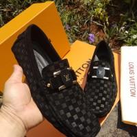 LOU IS VUITTON-jual sepatu pria branded loafers mirror