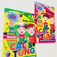Buku CALISTUNG Untuk anak TK-SD, Belajar Membaca - Menulis - Berhitung