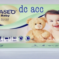 tissue tisue tisu paseo baby 50sheets 3ply