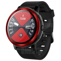 Lemfo lem8 smartwatch android 7.1.1 RAM 2GB/16GB 2MP camera -- merah